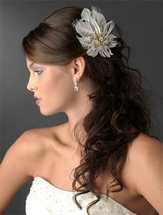 Bridal Headpieces Available At: www.allysonjames.net