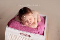 Gold Pearl Grecian Newborn Headband