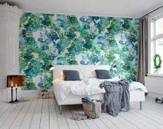 Paredes y pisos de estilo escandinavo por Rebel Walls https://www.homify.com.mx/libros_de_ideas/3005484/primavera-verano-2017-10-colores-para-pintar-las-paredes-de-tu-casa