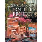 Custom Dollhouse Furniture  Instructions and Plans for Beginners: Books on Making Miniature Furniture