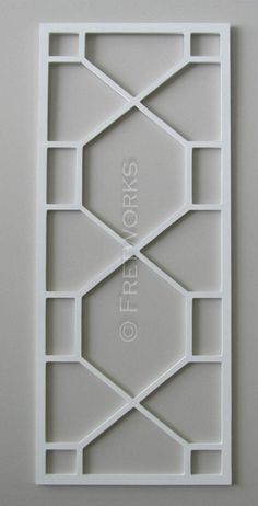 This listing is for an unfinished 18 x 43 x mdf panel in our Oxmoor pattern. Please note, the panel pictured has been painted. This listing Iron Door Design, Wrought Iron Security Doors, Grill Door Design, Window Design, Metal Doors Design, Pop Design For Roof, Balcony Railing Design, Iron Security Doors, Sliding Door Design