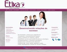 Étika Pessoas e Organizações - Desenvolvido por W3alpha. www.w3alpha.com.br