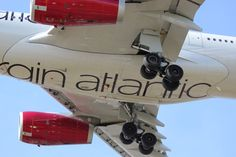 Virgin Atlantic A330-343 (G-VNYC) Virgin Atlantic, Airplane, Fighter Jets, Aircraft, Plane, Aviation, Planes, Airplanes, Airplanes