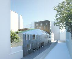 AZC Atelier Zündel Cristea architecture projet project Planchette Paris santé health logements adaptés elderly housing