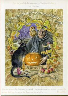 The Goddess and the Green Man | Festivals And Sabbats | Goddess Wheel Of The Year Samhain