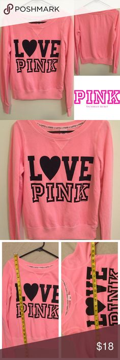 Victoria's Secret Pink comfy graphic pullover Size xs. Gently worn. 🙆🏻no trades or off site transactions. Since I have a variety of sizes I do not model🙅🏻Low ball offers will be denied.😁I have an illness that sometimes requires serious medical attention & 2 little ones 👶🏼👶🏻 so if I don't respond I'm either very ill that day 🚑 or have been kidnapped by my kids.Thank you for shopping my closet! 💋 PINK Victoria's Secret Sweaters