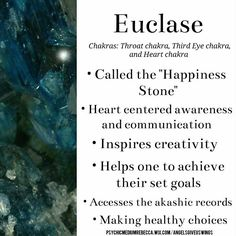 Euclase crystal meaning