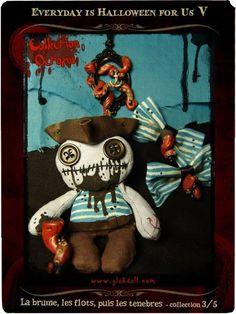 """mika & les GLOKdoll - Troisième collection des 11 Artistes d'Everyday is Halloween for Us, sur le thème """"la brume, les flots, puis les ténèbres..."""" Toutes les infos en cliquant sur l'image!"""