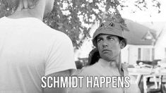 New Girl Quote (About black and white, gifs, Schmidt happens)