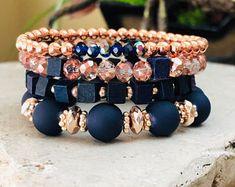 Stackable Bracelets, Gemstone Bracelets, Handmade Bracelets, Bracelet Set, Gemstone Jewelry, Beaded Jewelry, Handmade Jewelry, Ermish Bracelets, Jewelry Necklaces