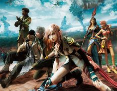 final fantasy characters | Final Fantasy XIII