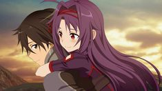Kirito and Yukki Sword Art Online Asuna, Kunst Online, Online Art, Sao Game, Desenhos Love, Gurren, Kirito Asuna, Accel World, Dark Pictures