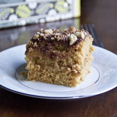 Healthy Coffee Cake that