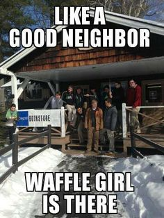 waffle girl #10 Girl Memes, Good Neighbor, Waffles, Tuesday, Fat, Wrestling, Lucha Libre, Waffle
