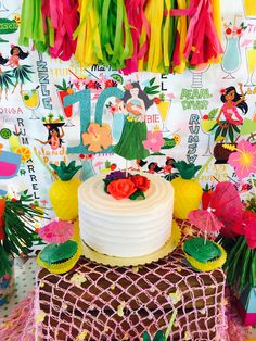 jungle birthday party decoration homemade Annif Louis Pinterest