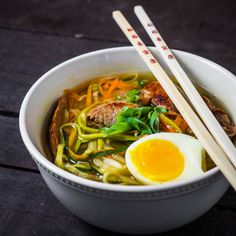 Authentic Ramen with Zoodles