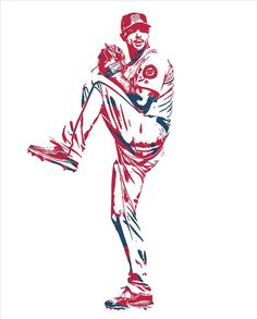 Max Scherzer WASHINGTON NATIONALS PIXEL ART 11 Art Print by Joe Hamilton. All prints are professionally printed, packaged, and shipped within 3 - 4 business days. Baseball Art, Baseball Stuff, Joe Hamilton, Beauty Life Hacks Videos, Thing 1, Beauty Salon Interior, Fun Snacks For Kids, Washington Nationals, Video Games For Kids