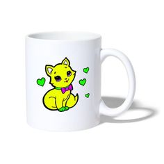 Geschenke Shop   Herzige Katze - Tasse Shirt Diy, Snoopy, Mugs, Tableware, Character, Art, Cat Art, Coffee Cups, Tea Cups
