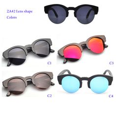 Eyewear Type: SunglassesItem Type: EyewearDepartment Name: AdultBrand Name: No logoGender: WomenStyle: RoundLenses Optical Attribute: GradientFrame Material: WoodenFrame Color: BlackFrame Color: BrownFrame Color: MultiLens Width: 4.8 cmLens Height: 4.8 cmLenses Material: CR-39Model Number: ZA42Certificate: ISO9001Usage: UV400 ProtectionFrame Color: Painted BambooProduct typle: Bamboo sunglassesCharacters: Eco-friendly, fashion styleQuality Level: A++ Top wood sunglassesHinge Type: Spring…