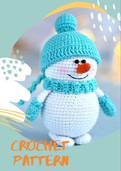 Create your own cute Snowman