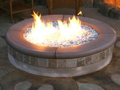 DIY - Building a Propane Glass Firepit - advantage of clean burning pit is that during air quality restraints, this pit is allowed, it's propane vs wood. If you live in the rural outskirts of the country, wood is most likely your preferred option.