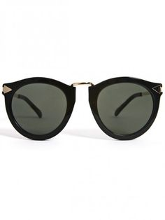 Karen Walker Eyewear Harvest- Black  $210.00