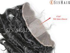 Brazilian Virgin Hair 13×4 Silk Base Lace Frontal Closure Body Wave (2)