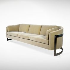 Mid-Century Floating Sofa by Milo Baughman | From a unique collection of antique and modern sofas at www.1stdibs.com/...