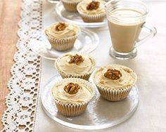 Mary Berry's coffee and walnut cupcakes are easy to make and are great for an afternoon tea treat