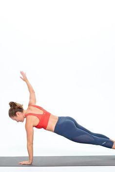 Arm Circle Planks