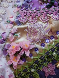 I ❤ crazy quilting, beadwork & embroidery . . . ~By Rengin's Colors