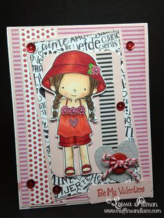 Designed by Larissa Pittman of Muffins and Lace using MFT Birdie Brown stamp Everyday is a Picnic