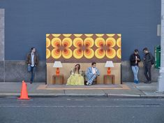 #SetintheStreet: Unordinary Scenes Set In Ordinary Places Photographed by Justin Bettman   Yellowtrace