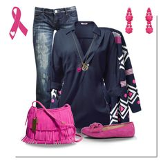 """""""Couldn't Pink a Color.. """" by jacci0528 ❤ liked on Polyvore featuring Wet Seal, UGG Australia and Danielle Stevens"""