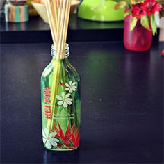 Make a reed diffuser in 5 minutes.