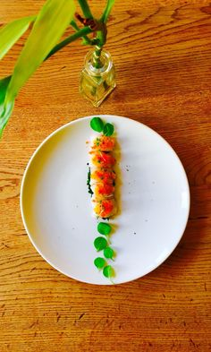 Shrimp carpaccio #EpicureanJourney
