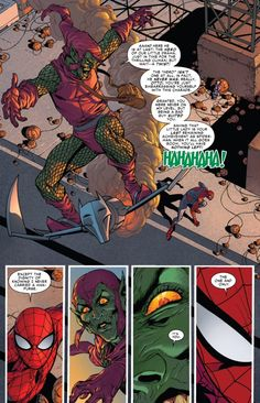 """Green Goblin realizes he's going against the """"original"""" Spider-Man in Superior Spider-Man #31"""