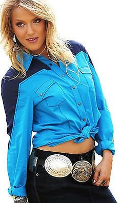 CRUEL GIRL RODEO Western Barrel Arena Fit Snaps SHIRT COWGIRL NWT MEDIUM