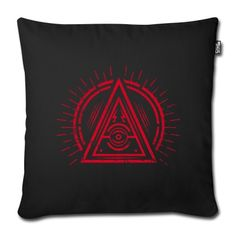 The Eye of Providence monitors all of us! Cool pyramids triangle design with the All Seeing Eye. Super gift for friends of Illuminati, Occult, Satan, Black Metal, Goth