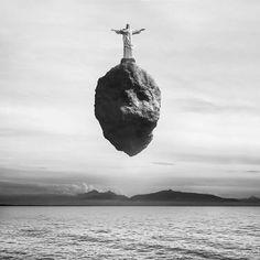 "Saatchi Art Artist Giuseppe Lo Schiavo; Photography, ""Levitation - Cristo Redentor (Edition of 15) 1/15"" #art"