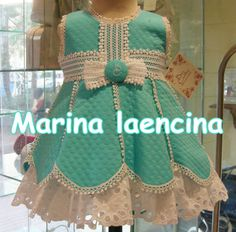 Baby Girl Dresses Diy, Stylish Dresses For Girls, Frocks For Girls, Baby Dress, Girls Dresses, Baby Girl Fashion, Kids Fashion, Mother Daughter Fashion, Girls Frock Design
