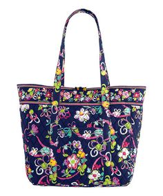 Another great find on #zulily! Ribbons Large Laptop Tote by Vera Bradley #zulilyfinds
