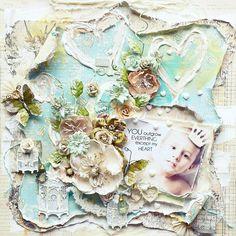 Heart *Prima BAP Feb* - Scrapbook.com