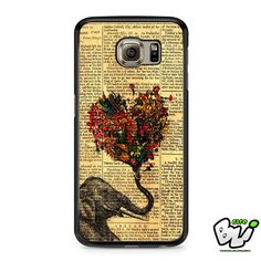 Colorful Heart Elephant Samsung Galaxy S7 Case