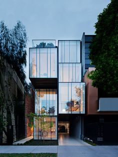 Wellington St Mixed Use / Matt Gibson Architecture + Design Photos by: Shannon McGrath Architecture Design, Modern Architecture House, Residential Architecture, Cultural Architecture, Building Design, Building A House, Entry Stairs, Mixed Use, Architecture Drawings