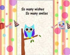 Hoot out a cute #birthday wish to your best friend with this #ecard. #happybirthday