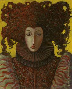 George Underwood - British Surrealist Painter - 'Rosalyn'