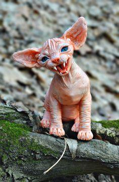 #MANKIN #mankin #ручнаяработа #подарок #арт #сфинкс #кот #cat #kitty #скульптура #скульптурнаяигрушка Высота: 22 см