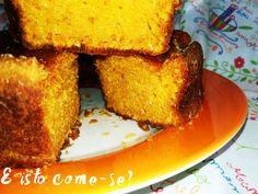 E isto come-se?: Bolo de Melancia Cornbread, French Toast, Breakfast, Ethnic Recipes, Food, Go Outside, Ideas, Millet Bread, Morning Coffee