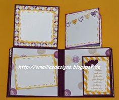 Omellie's Designs: Mini Album Card zur Hochzeit